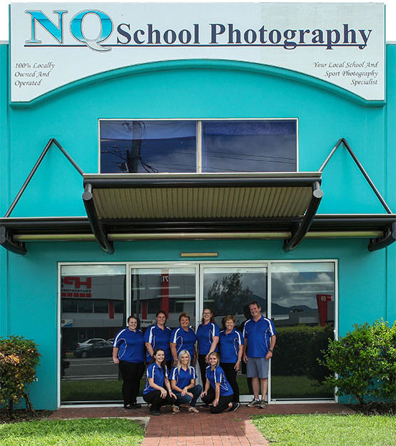 NQ School Photography Staff Group front view